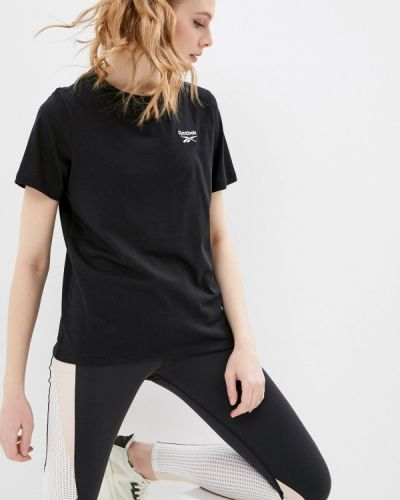 Черная футболка Reebok