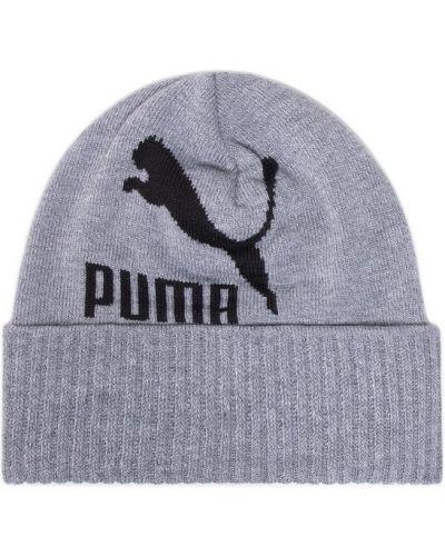 Szara czapka beanie Puma