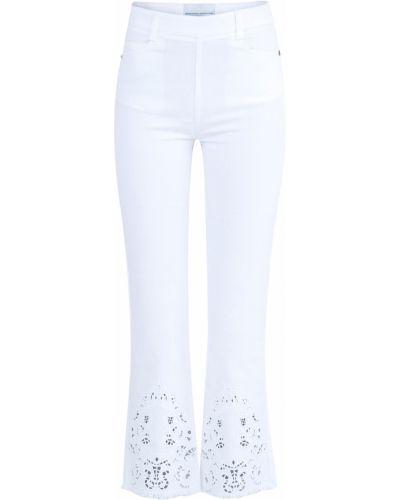 Расклешенные джинсы укороченные на пуговицах Ermanno Scervino