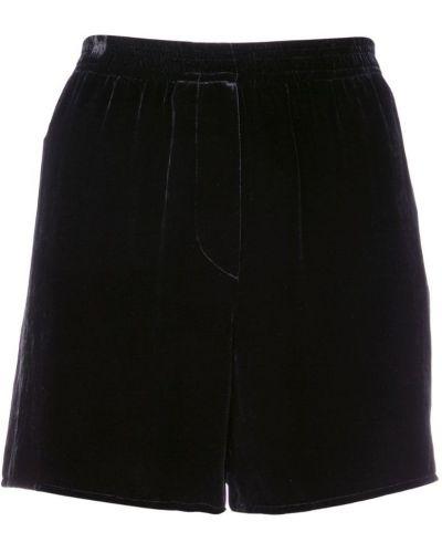 Короткие шорты - черные Vera Wang