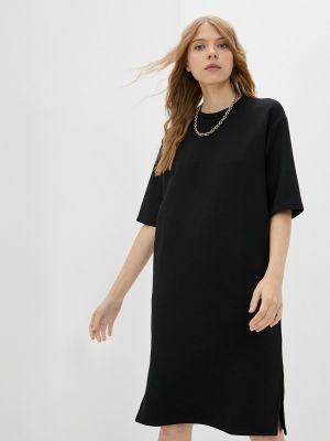 Черное платье осеннее Savage