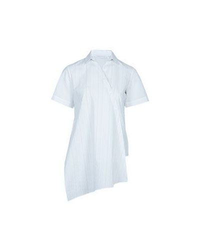 Рубашка белая в полоску Fabiana Filippi