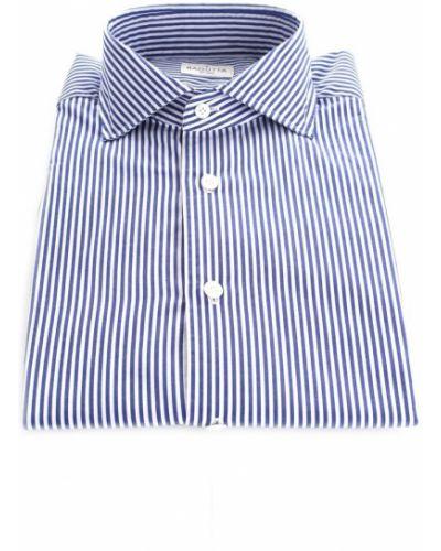 Niebieska koszula casual Bagutta