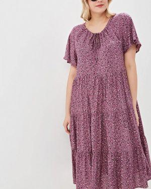 Повседневное платье розовое Артесса