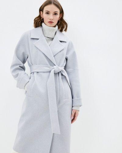 Серое пальто Nastasia Sabio