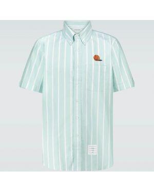 Koszula oxford z paskami w paski Thom Browne