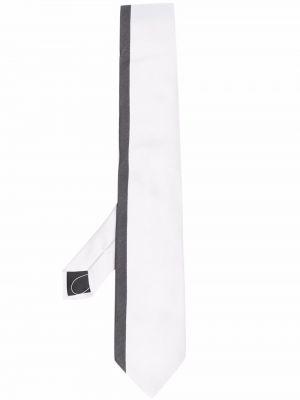 Krawat z jedwabiu - biały Givenchy