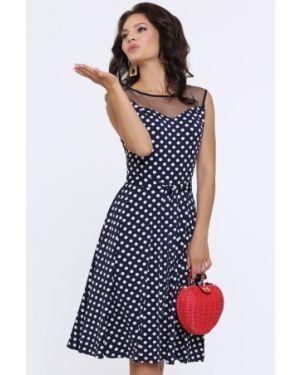Платье с поясом сетчатое платье-пиджак Dstrend