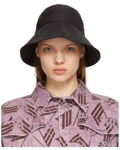 Нейлоновая черная шапка The Attico