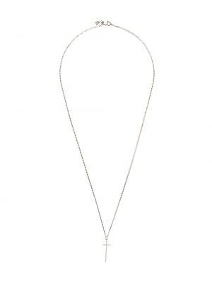 Желтое ожерелье с подвесками круглое Maria Black