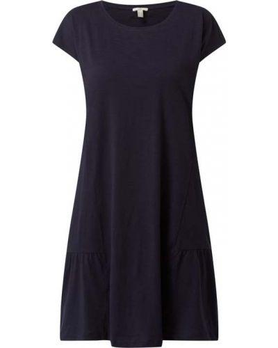 Niebieska sukienka bawełniana Edc By Esprit