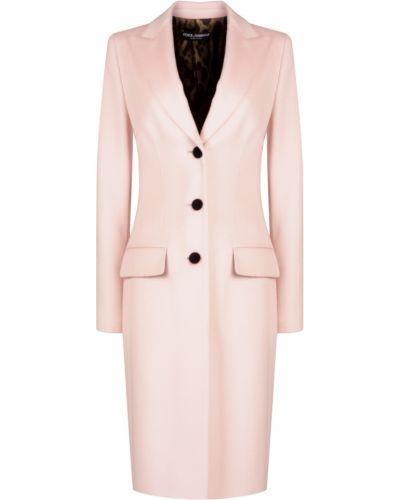 Пальто демисезонное с отложным воротником Dolce&gabbana