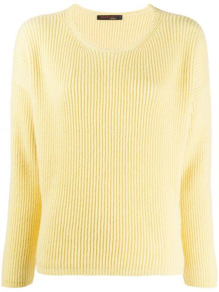 Желтый свитер со спущенными плечами Incentive! Cashmere