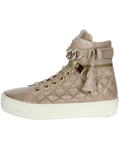 Brązowe sneakersy Florens