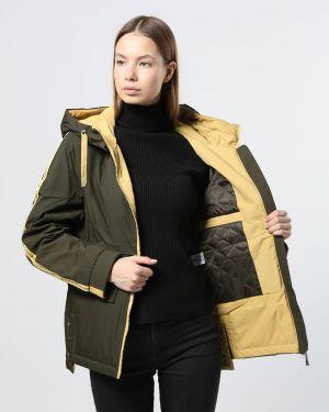 С рукавами нейлоновая куртка айвори T.ycamille