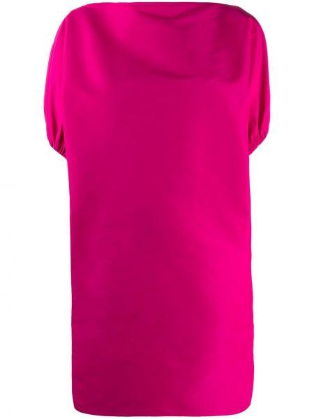 Платье мини прямое с воротником N21