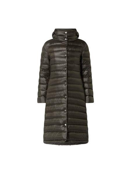 Płaszcz puchowy z kapturem - zielony Blonde No. 8