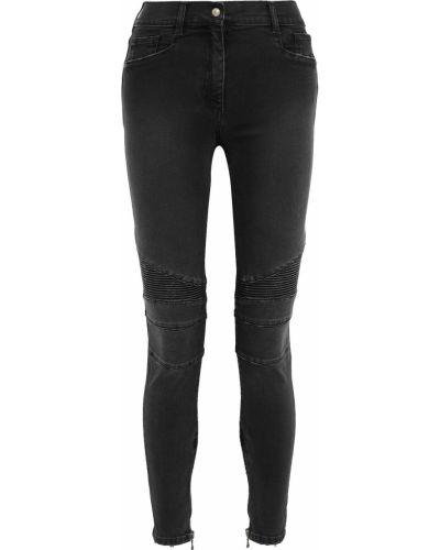 Хлопковые джинсы Balmain