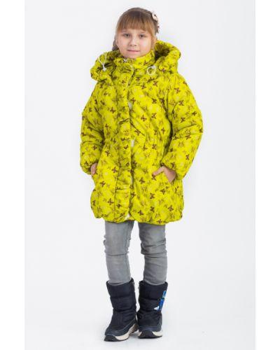 Пальто с капюшоном на синтепоне на молнии Lacywear