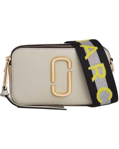 Żółta torba na ramię skórzana Marc Jacobs