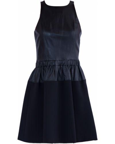 Платье пышное кожаное Michael Michael Kors