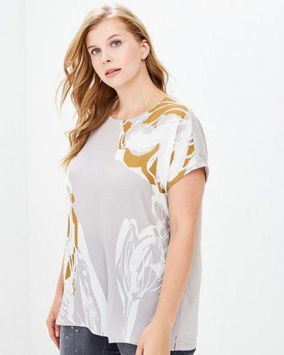 Серая футболка Samoon By Gerry Weber
