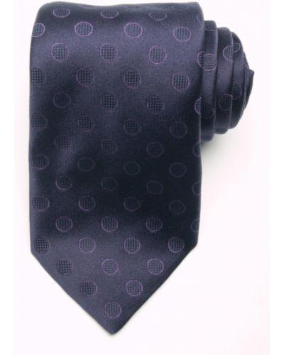 Синий галстук итальянский Tino Cosma