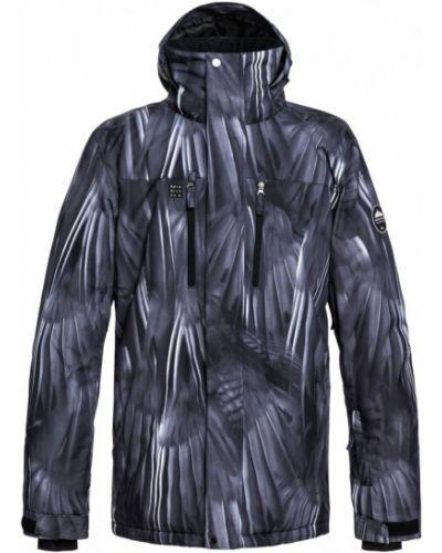 Черная куртка горнолыжная Quiksilver