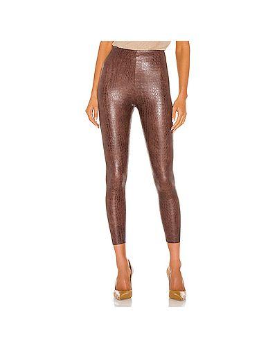 Нейлоновые коричневые брюки от морщин с тиснением Commando