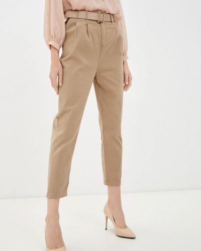 Бежевые брюки повседневные Grafinia