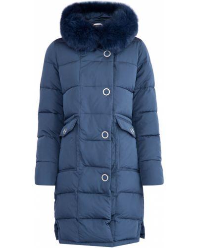 Куртка с капюшоном нейлоновая кокон Cudgi
