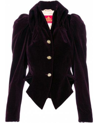 Фиолетовая короткая куртка Vivienne Westwood Pre-owned