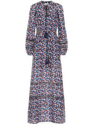 Летнее платье макси шелковое Tory Burch