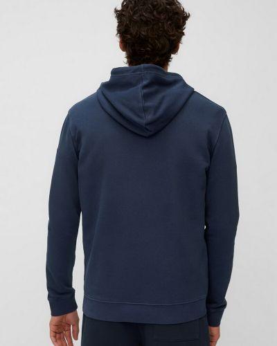 Хлопковый поло - синий Marc O'polo Denim