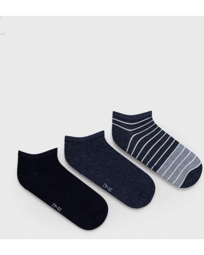 Niebieskie skarpety bawełniane Tommy Hilfiger