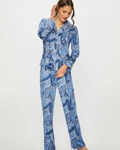 Пижама с брюками свободная на пуговицах Lauren Ralph Lauren