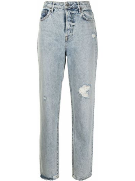 Klasyczne niebieskie jeansy bawełniane Grlfrnd