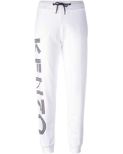 Спортивные брюки с отворотами с карманами Kenzo