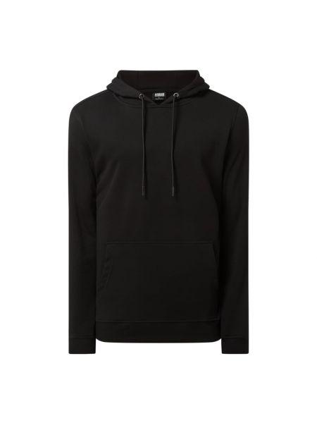 Czarna bluza z kapturem bawełniana Urban Classics