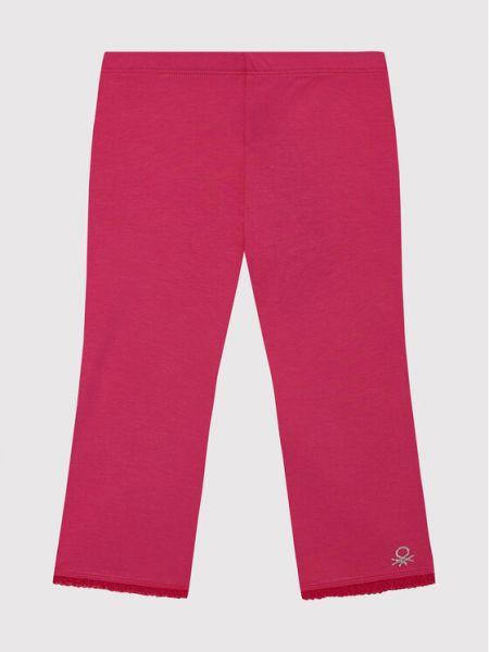 Legginsy - różowe United Colors Of Benetton
