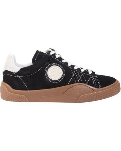 Sneakersy skorzane koronkowe Eytys