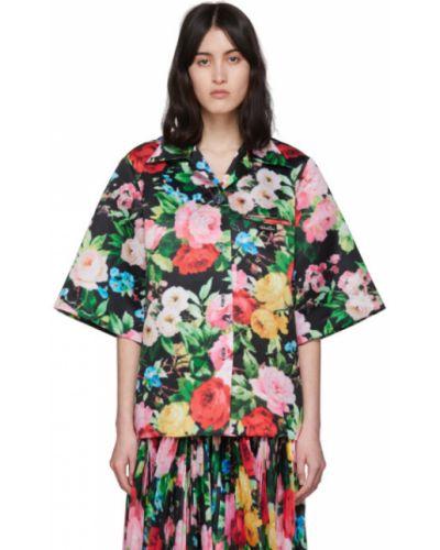Рубашка гавайская без воротника Richard Quinn