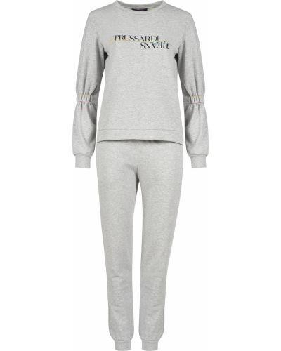 Спортивный костюм серый Trussardi Jeans