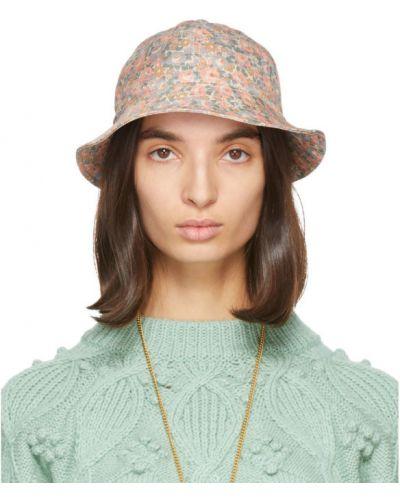 Bawełna bawełna biały kapelusz Gucci