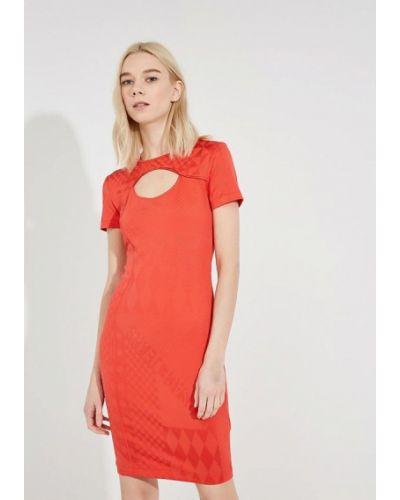 Красное платье Versace Jeans