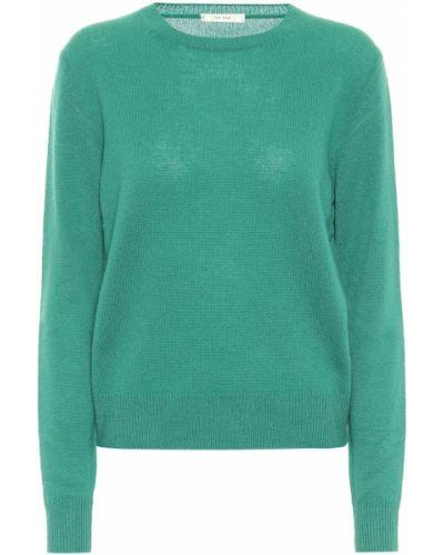 Кашемировый свитер - зеленый The Row