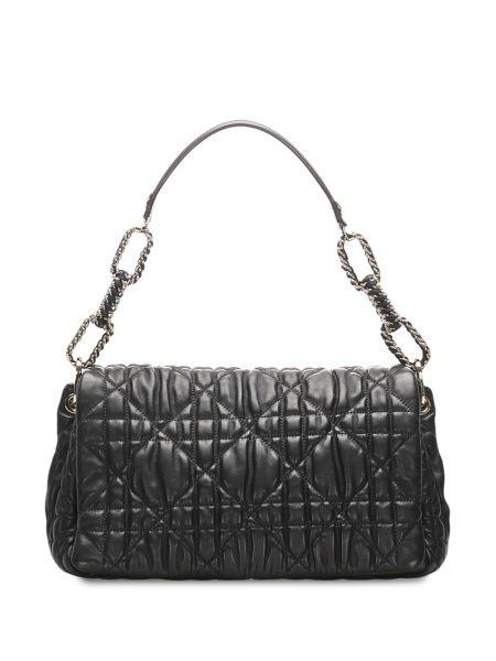 Srebro z paskiem torba kosmetyczna z prawdziwej skóry za pełne Christian Dior