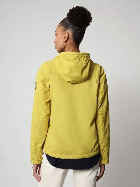 Желтая куртка Napapijri