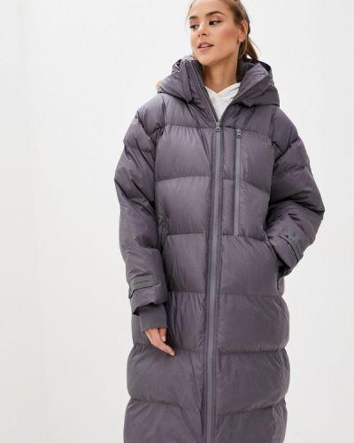 Серая теплая куртка Adidas By Stella Mccartney