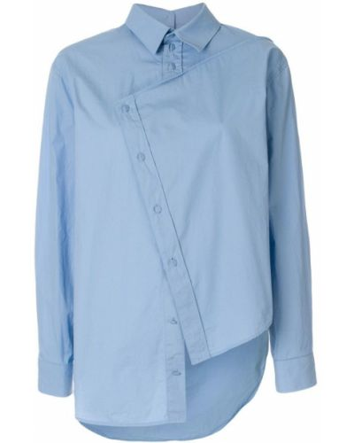 Классическая рубашка с длинным рукавом хлопковая Cédric Charlier